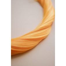 Кольорове волосся на заколках помаранчеве ( 119 )