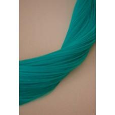 Искусственные пряди волос на заколках бирюза ( 5126 )