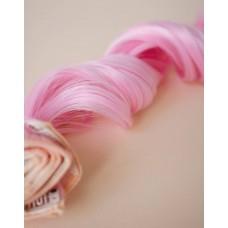 Рожеве кольорове волосся на заколках ( 2317 )