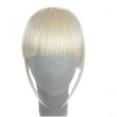 Челка блондинка