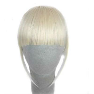 Чубчик накладний на заколках блондинка ( 613 )