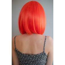 Жіноча помаранчева перука каре ( 2618 )