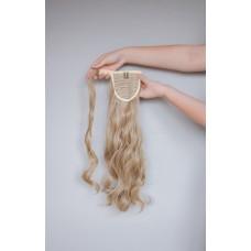 Накладной волнистый хвост пепельный блонд ( 24 )