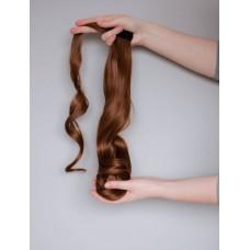 Хвилястий накладний хвіст з штучного волосся ( 12 )
