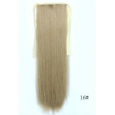Хвост на ленте пепельный блонд ( 16 )