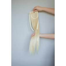Накладний хвіст шиньон на стрічці блонд ( 86/613 )
