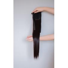 Накладний хвіст з прямого волосся ( 4A )
