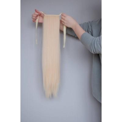 Хвост термоволокно блондинка ( 60 )