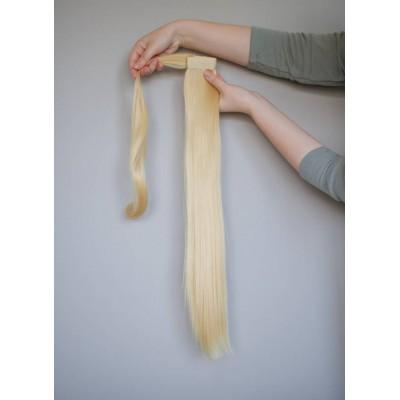 Накладной искусственный хвост пшеничный блонд ( 86 )