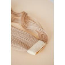 Накладной хвост шиньон пепельный блонд термоволокно ( 16 )