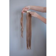 Хвіст накладний на коротке волосся русий меліровка ( 12/613 )