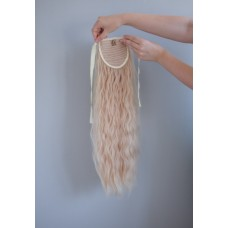 Довгий хвіст шиньон блондинка кучерявий ( 22 )