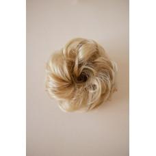Пучок резинка из волос золотистый блонд ( 22 )