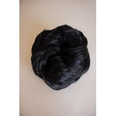 Резинка на пучок из волос черная ( 1B )
