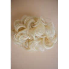 Заколка бабетта из волос блонд ( 613 )