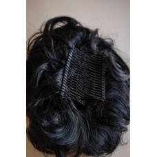 Заколка з волосся для стильної зачіски чорна ( 1 )