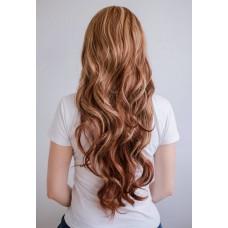 Парик коричневый длинные волнистые волосы( 1524 )