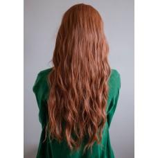 Парик с длинными волосами коричнево рыжий ( 1549-20 )