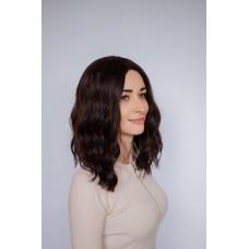 Коричневый универсальный парик на каждый день ( 3026 )