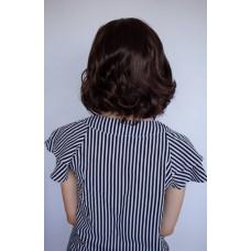 Каштановый парик средней длины ( 663 )