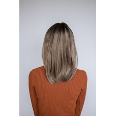 Руса мелірована перука каре з чолкою ( 246 )