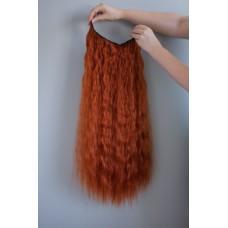 Руда потилична прядка волосся на заколках ( 119 )