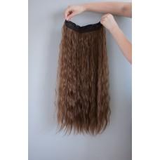Треси волосся на заколках коричневі ( 10 )
