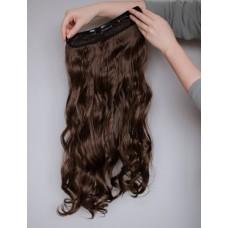 Накладне волосся треси хвиля коричневе ( 8A )