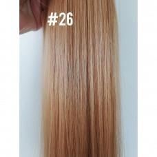 Волосся на кліпсах потиличне пасмо ( 26 )