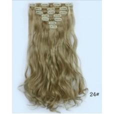 Треси накладне волосся попелястий блонд ( 24 )