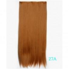 Затылочная накладная прядь волосы на клипсах ( 27A )