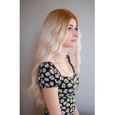 Довга перука блондинка хвилясте волосся ( 2354 )