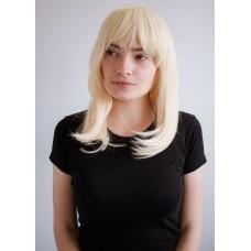 Довга перука з чубчиком блондинка ( 485613 )
