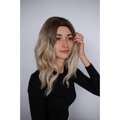 Парік русий імітація росту волосся ( 2911 )