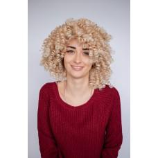 Афропарик блондинка средней длины ( 5223 )