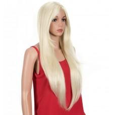 Длинный парик блондинка с имитацией роста волос ( 0621 )