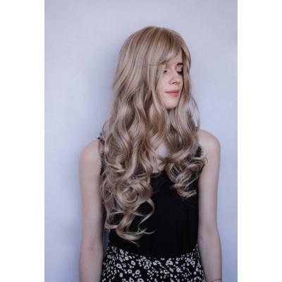Перука довга попелястий блонд ( 2142 )