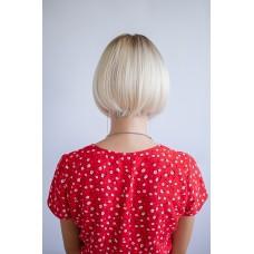 Коротка перука блондинка з чолкою ( 1712 )