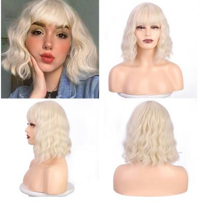 Перука блондинка холодний відтінок ( 2934 )