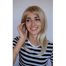 Мелірована перука блондинка з чолкою і проділом ( 2423 )
