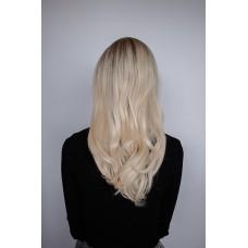 Парик блондинка термостойкий средняя длина ( 3351 )