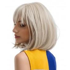 Мелірована перука каре з чолкою блондинка ( 3360 )