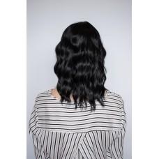 Жіноча чорна перука з чубчиком ( 1248 )