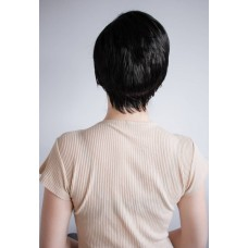 Чорна коротка перука універсального розміру ( 1431 )