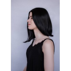 Чорна перука каре без чубчика ( 2835 )