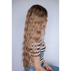 Довга руса перука з затемненими коренями ( 4080 )