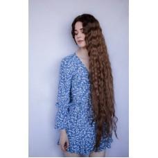Руса перука довге волосся на капросітці ( 5062 )