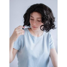 Коротка чорна перука на сітці ( 5021 )