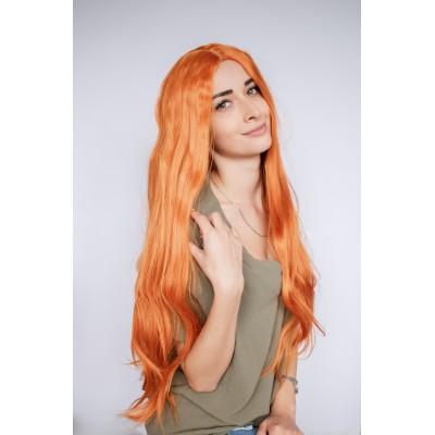 Перука руда довге волосся ( 3213 )