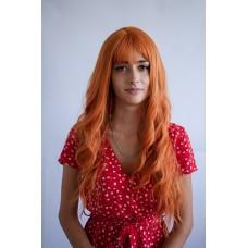 Руда перука з довгим волоссям ( 6053 )